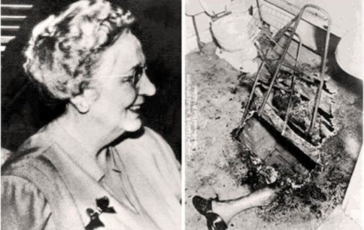 Mary Reeser was a victim of spontaneous human combustion