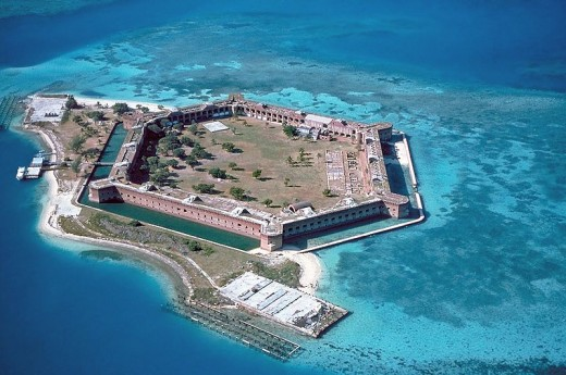 Fort Jefferson,Dry Tortugas National Park.