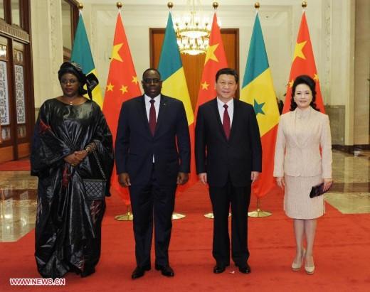 Macky Sall and Xi Jinping meet in Beijing.