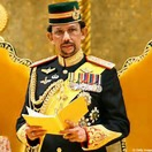 The Sultan of Brunei is the second richest royal on the whole planet.