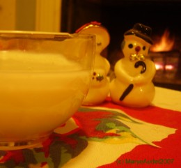 Homemade egg nog is an old fashioned holiday treat!