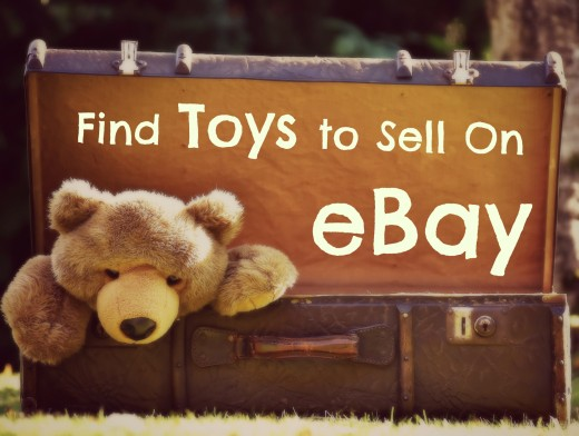 Looking to find toys to sell on eBay?