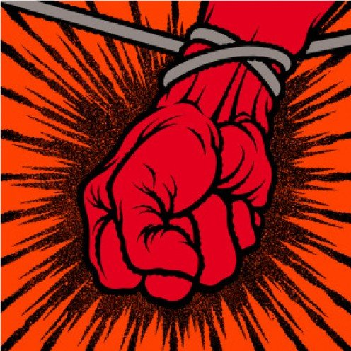 The cover for the album St. Anger symbolizes the anger and emotion in the album's music. It is one heavy and hard hitting album as new music fans are sure to find out.