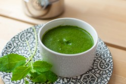 Delicious Indian Mint & Cilantro Chutney Made Under 10 Minutes