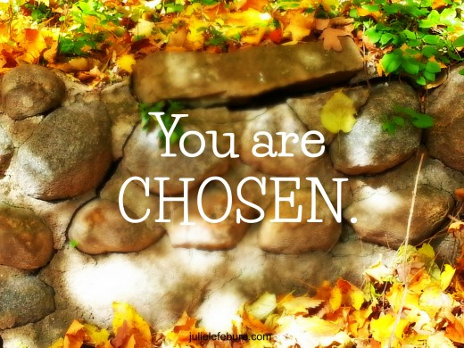 Yes You Are Chosen, Christ Has Always Been Your Answer!!!