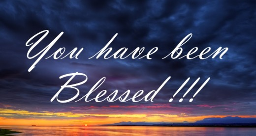 You Are Blessed of Father God!!