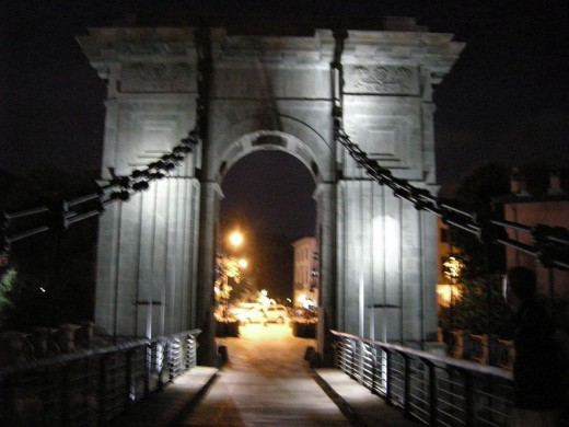 Ponte d'Oro in Italy