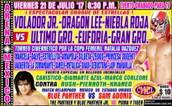 Praise Grodd and Pass the CMLL Running Diary