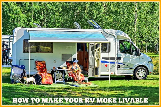 The best ways to make more living space in your RV.