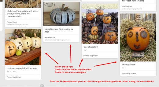 Using Awesome Screenshot, I cropped and then added some text and arrows to a Pinterest pinboard. This gave me a useful graphic for my hub on this topic.