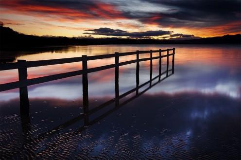 Mortimer Bay, Tasmania, Australia.