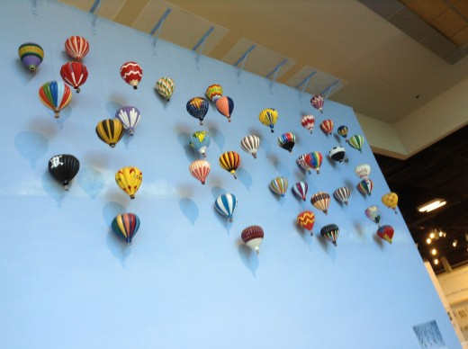 Different types of balloon models