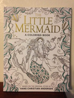 Color Your Way Into the Undersea World of the Little Mermaid with this Creative Coloring Book and Story
