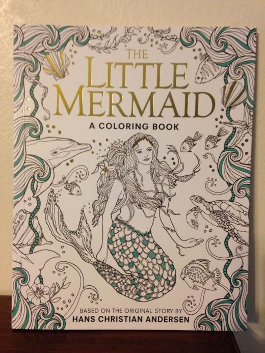 Both adults and children will enjoy this creative coloring book and story