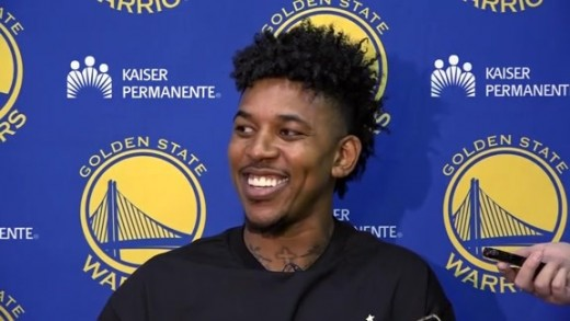 Nick Young, a guard signed in the off season, who left the Lakers