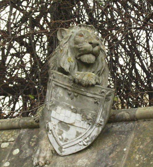 The brave lion Is a symbol of the Bute family.
