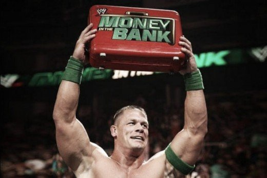 John Cena as Mr. Money In The Bank