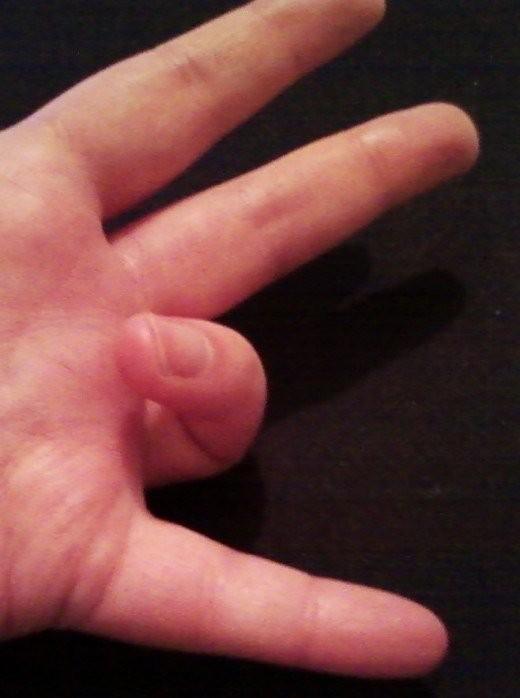 Ring Finger Bending Alone