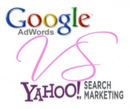 Google Adwords Vs Yahoo Search Marketing