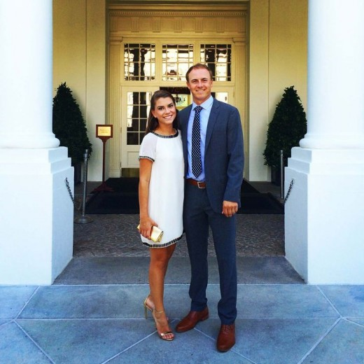 Jordan Spieth and girlfriend have dated since high school days at Dallas Jesuit