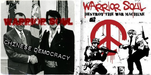 Same album, different titles:Chinese Democracy /Destroy The War Machine (2010)