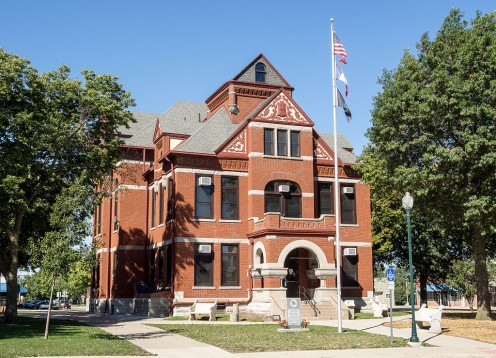 Adair County Iowa County Courthouse