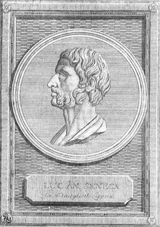 Seneca, ancient Roman stoic philosopher.