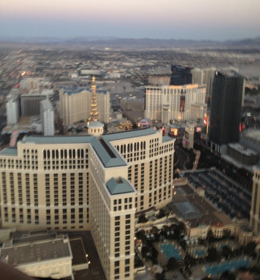 Love the view over the hotel.