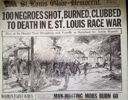 The East St. Louis Race Riots