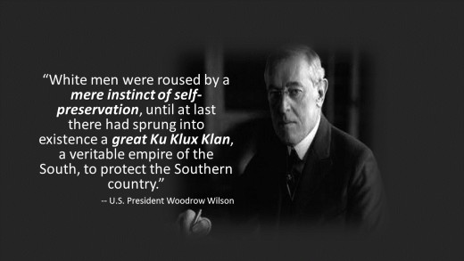 Discrimination Increased Under U.S. President Woodrow Wilson