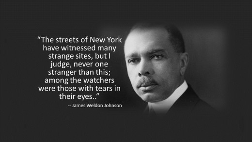 Civil Rights Activist & NAACP President, James Weldon Johnson's Response to The Silent March