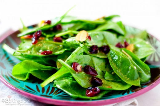 Raisins or Craisins Add a Special Touch to Salad!