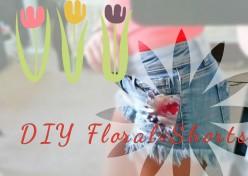 DIY : Cute Floral Shorts
