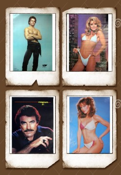 Classic 1980s Personality Pin-up Posters!