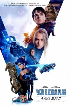 """Movie Review: """"Valerian and the City of a Thousand Planets"""""""