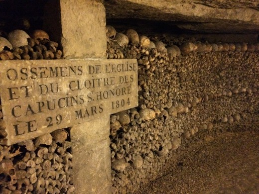 I never would have been able to see the Paris catacombs without planning early. (Catacombs open at 10:00...got there at 8:45; line was getting huge around 9:20. Even when by the front of the line it took a long time to get inside)