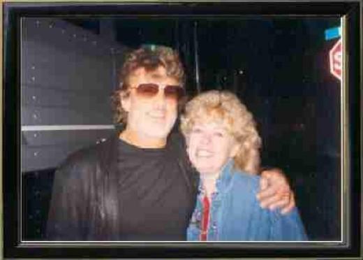 Kris Kristofferson and Tiana Dreymor - March 19, 1994