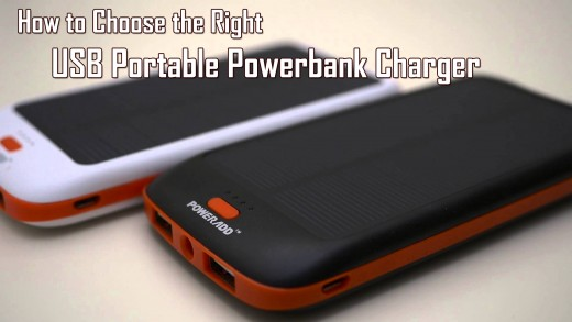 How to Choose the Best USB Portable Powerbank Charger