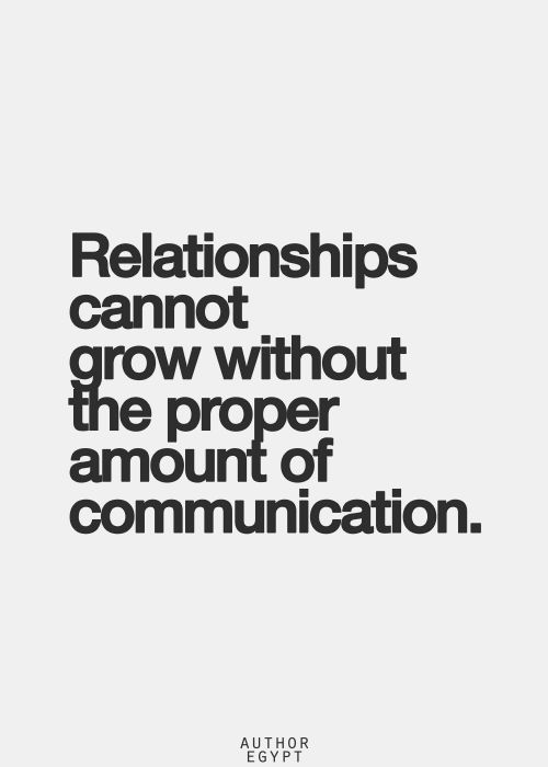 Communication Makes Us Stronger.