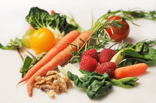 Healthy diets include the nutrients the body needs.