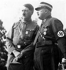 Hitler and Roehm in Better Days