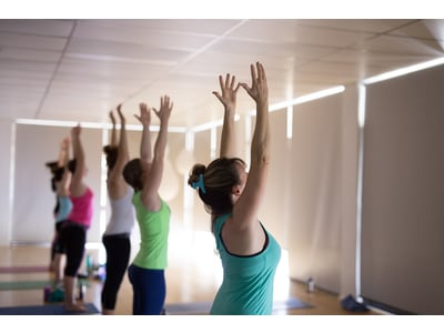 Hot Yoga Class at Active Life Fitness