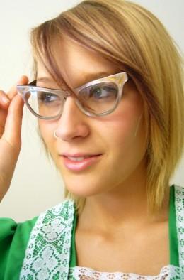 Stylish fifties glasses