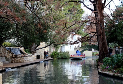 San Antonio River Walk, Texas, USA