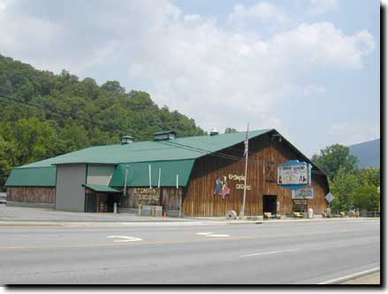 The Stompin' Ground of Maggie Valley! Picture courtesy of http://discovermaggievalley.com.