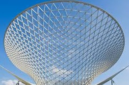 Structures made of glass