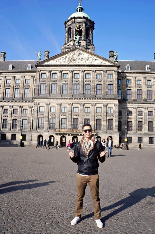 Dam Square is Amsterdam's best-known square, and it is a handy central location from which to explore the medieval city centre.