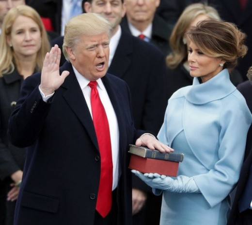 President Donald Trump in the White House with his wife playing the role of trying to run the country. This is a light article on what episodes will air and how it will be done.