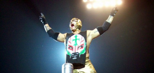 Rey Mysterio's match with Tony Arce played a big part in restarting the Panther-Love Machine rivalry