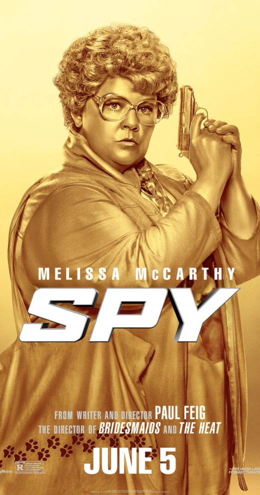 Melissa McCarthy as the lead actress in the spy film